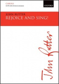Rejoice and sing! SATB by Rutter published by OUP