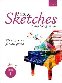 Neugasimov: Piano Sketches Book 1 published by OUP