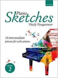 Neugasimov: Piano Sketches Book 2 published by OUP