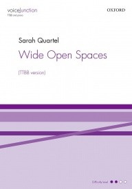 Quartel: Wide Open Spaces TTBB published by OUP