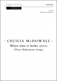 McDowall: When time is broke SSAA published by OUP