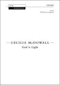 God is Light (SSATB) by McDowall published by OUP