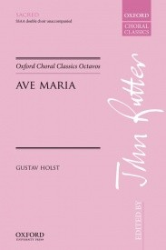 Holst: Ave Maria SSAA published by OUP