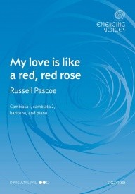 My love is like a red, red rose CCBar by Pascoe published by OUP