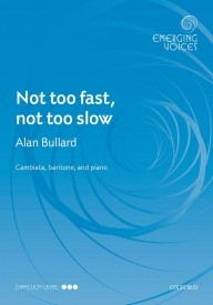 Bullard: Not too fast, not too slow CBar published by OUP
