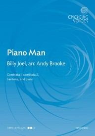 Piano Man CCBar arr Brooke published by OUP