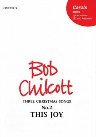 Chilcott: This joy SS published by OUP