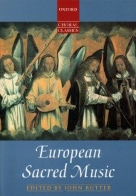 European Sacred Music published by OUP
