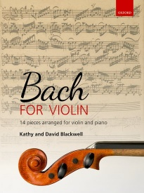 Bach for Violin published by OUP