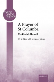 McDowall: A Prayer of St Columba SA/Men published by OUP