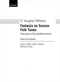 Vaughan Williams: Fantasia on Sussex Folk Tunes for Viola published by OUP
