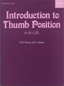An Introduction To Thumb Position for Cello published by OUP