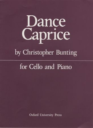 Bunting: Dance Caprice for Cello published by OUP