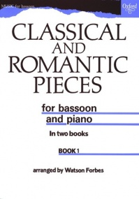Classical & Romantic Pieces Bassoon Book 1 published by OUP