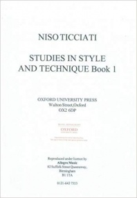 Ticciati: Studies In Style & Technique Book 1 for Cello published by OUP Archive