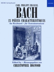 23 Pièces characteristiques for Piano by CPE Bach published by OUP