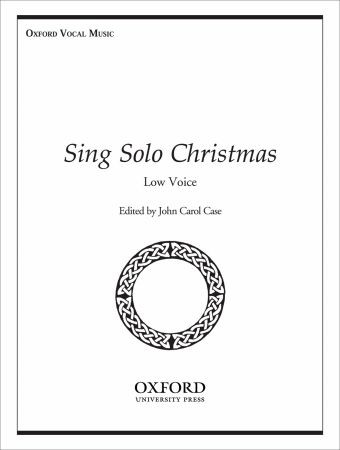 Sing Solo Christmas Low Voice published by OUP