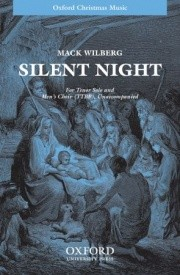 Wilberg: Silent night TTBB published by OUP