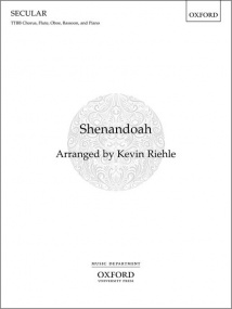 Riehle: Shenandoah TTBB published by OUP