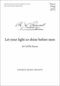 Let your light so shine before men by Pearsall published by Oxford University Press (OUP)