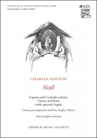 Gounod: Noël SATB published by Church Music Society