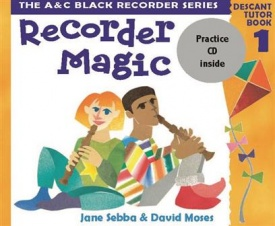 Recorder Magic Book & CD 1 published by A and C Black