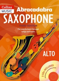 Abracadabra Book & CD for Alto Saxophone published by Collins