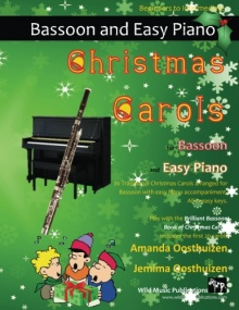 Christmas Carols for Bassoon and Easy Piano (Accompaniment Book)