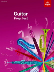ABRSM Guitar Prep Test from 2019