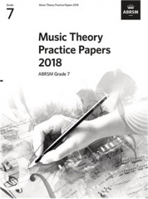 Music Theory Past Papers 2018 - Grade 7 published by ABRSM