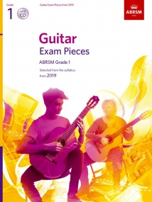 ABRSM Guitar Exam Pieces from 2019 Grade 1 (Book & CD)