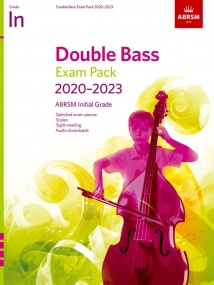 ABRSM Double Bass Exam Pack 2020-2023 Initial Grade