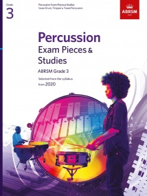 ABRSM Percussion Exam Pieces & Studies, Grade 3