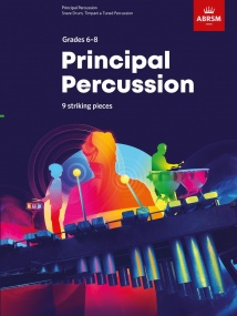 Principal Percussion Grade 6 - 8 published by ABRSM