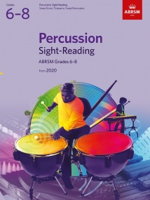 ABRSM Percussion Sight-Reading, Grades 6-8