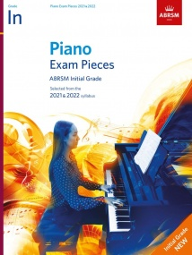 ABRSM Piano Exam Pieces 2021 & 2022 Initial Grade (Book Only)