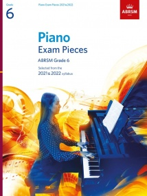 ABRSM Piano Exam Pieces 2021 & 2022 Grade 6 (Book Only)