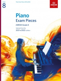 ABRSM Piano Exam Pieces 2021 & 2022 Grade 8 (Book Only)