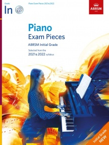 ABRSM Piano Exam Pieces 2021 & 2022 Initial Grade (Book & CD)