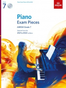 ABRSM Piano Exam Pieces 2021 & 2022 Grade 7 (Book & CD)