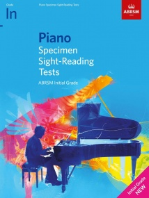 ABRSM Specimen Sight-Reading Tests Initial Grade for Piano - from 2021