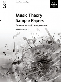Music Theory Sample Papers - Grade 3 published by ABRSM