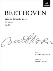 Beethoven: Sonata in D Opus 28 (Pastorale) for Piano published by ABRSM