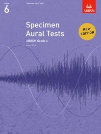 Specimen Aural Tests Grade 6 published by ABRSM