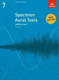 Specimen Aural Tests Grade 7 published by ABRSM