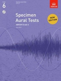 Specimen Aural Tests Grade 6 With CD published by ABRSM