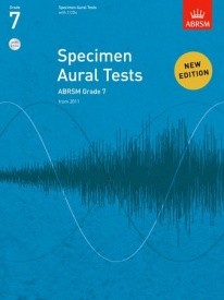 Specimen Aural Tests Grade 7 With CD published by ABRSM