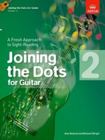 Joining The Dots Grade 2 by Bullard for Guitar published by ABRSM