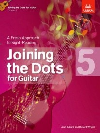 Joining The Dots Grade 5 by Bullard for Guitar published by ABRSM