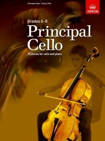 Principal Cello (Grades 6-8) published by ABRSM